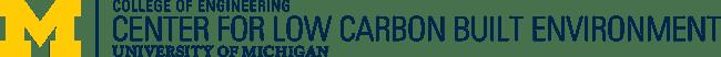 Center for Low Carbon Built Environment logo